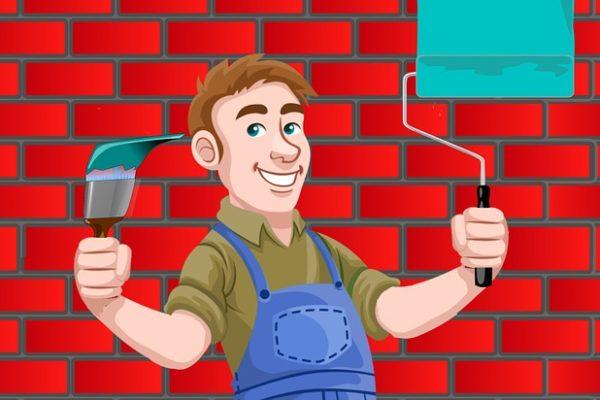 dipingi le pareti quando ristrutturi un bagno