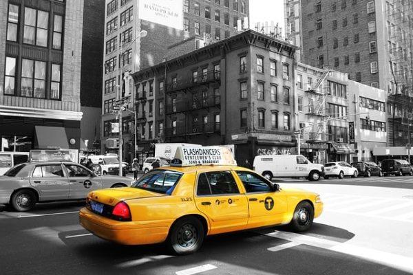 perché il taxi è di colore giallo