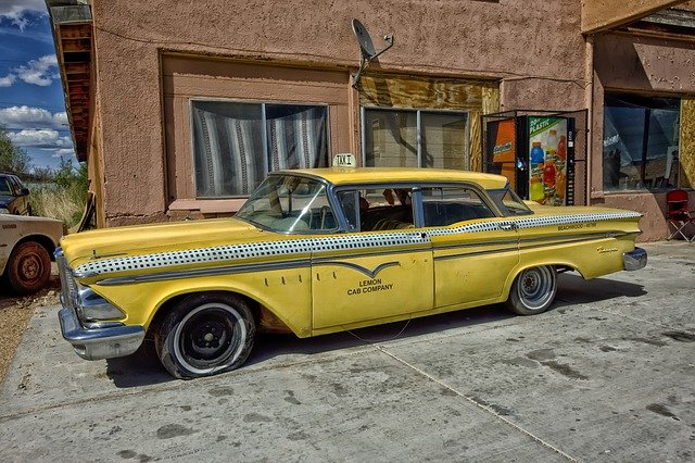 storia dei taxi