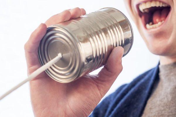 scusa per comunicare